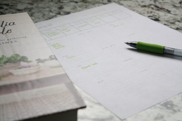 What to Make for Supper: Menu Planning